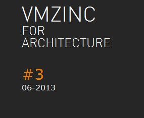 News: VMZINC launch the 3rd issue of Newsletter