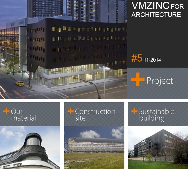 News: VMZINC launch the 5th issue of Newsletter