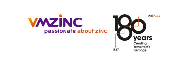 VMZINC®: 180 YEARS OLD !